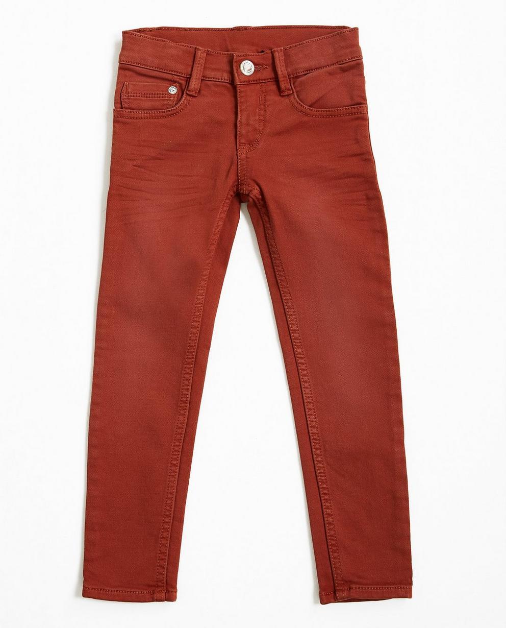 Ziegelrote Jeans - Wickie - Wickie